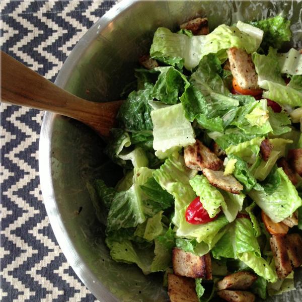 Dairy Free Caesar Salad