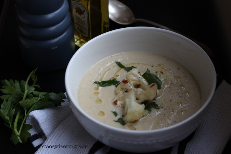Roasted Cauliflower Soup 1