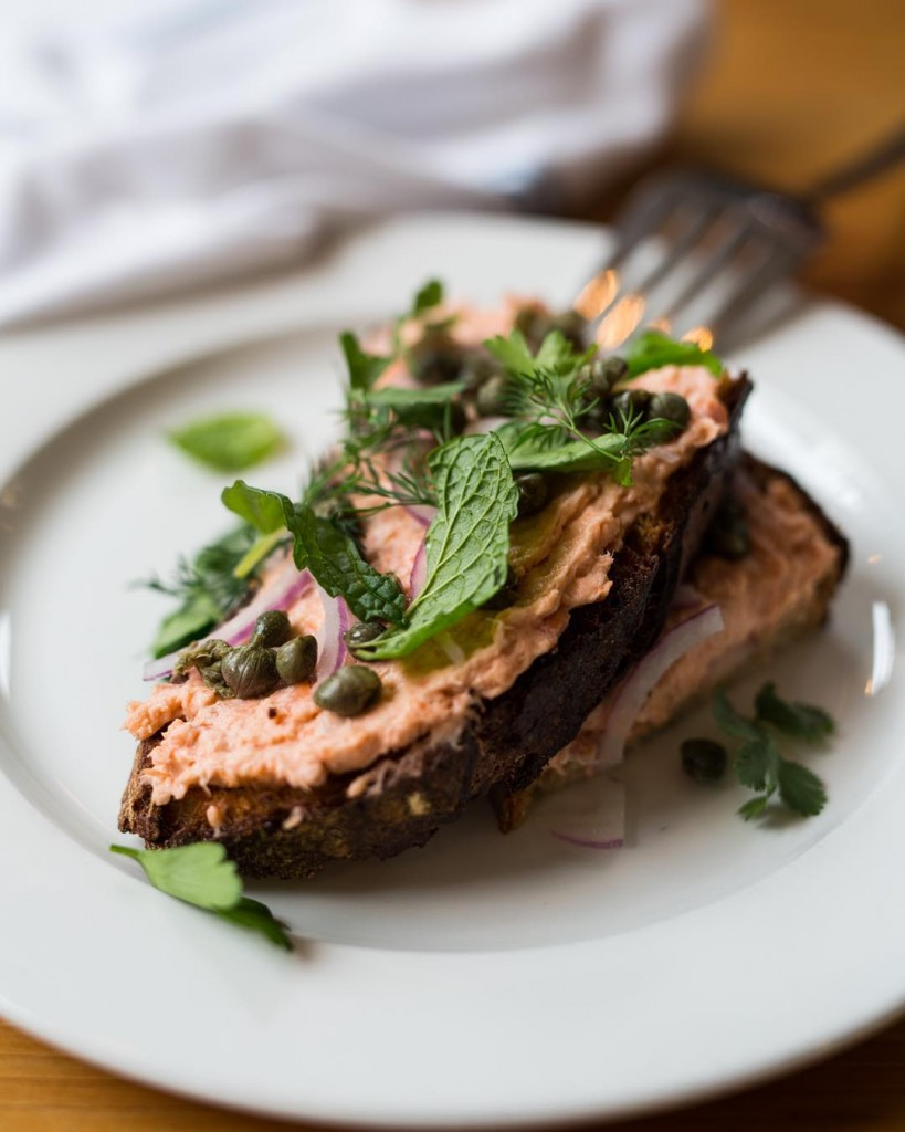 Craving this salmon toast sourdough barsajor seattle capers nutrition foodhellip