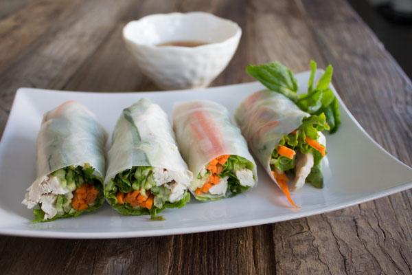 Chicken Salad Rolls8