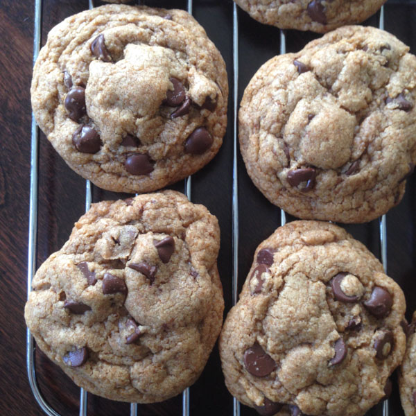 Coconut Oil Chocolate Chip Cookie-4-1