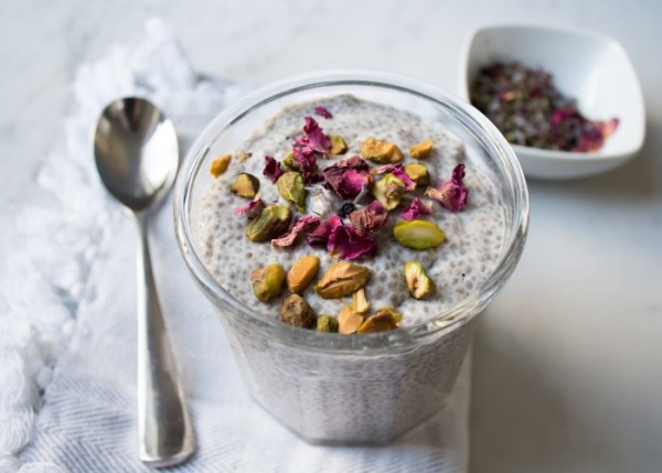 Rose Lavender Chia Pudding