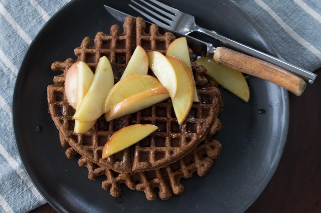 Gingerbread Waffles_