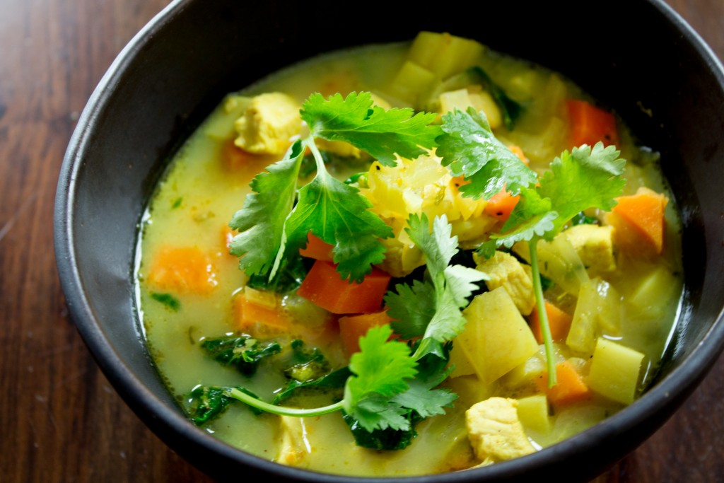 Chicken & Vegetable Soup.3