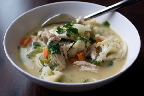 Chicken & Cauliflower Chowder