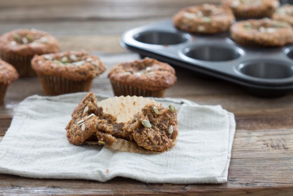Grain Free Banana Date Muffins.2