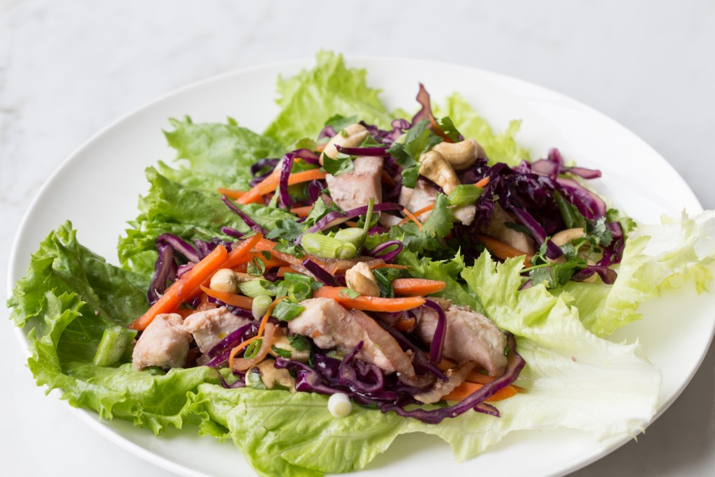 Cashew Chicken Lettuce Wraps.1