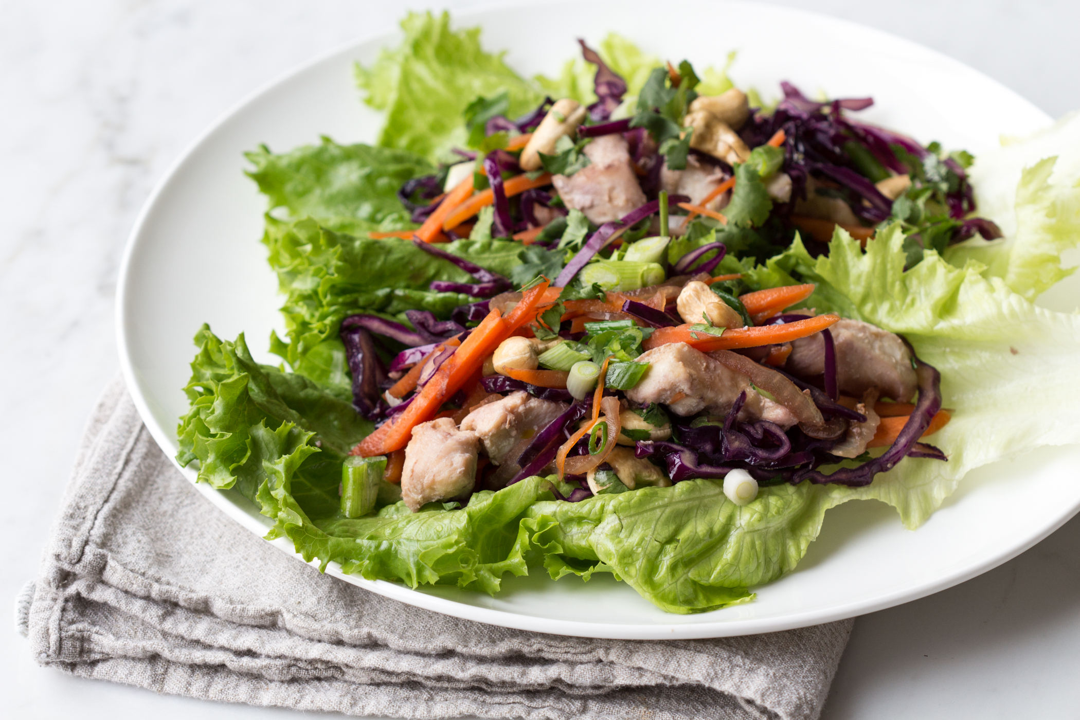 cashews chicken and cashews in lettuce cups recipe yummly cashew ...