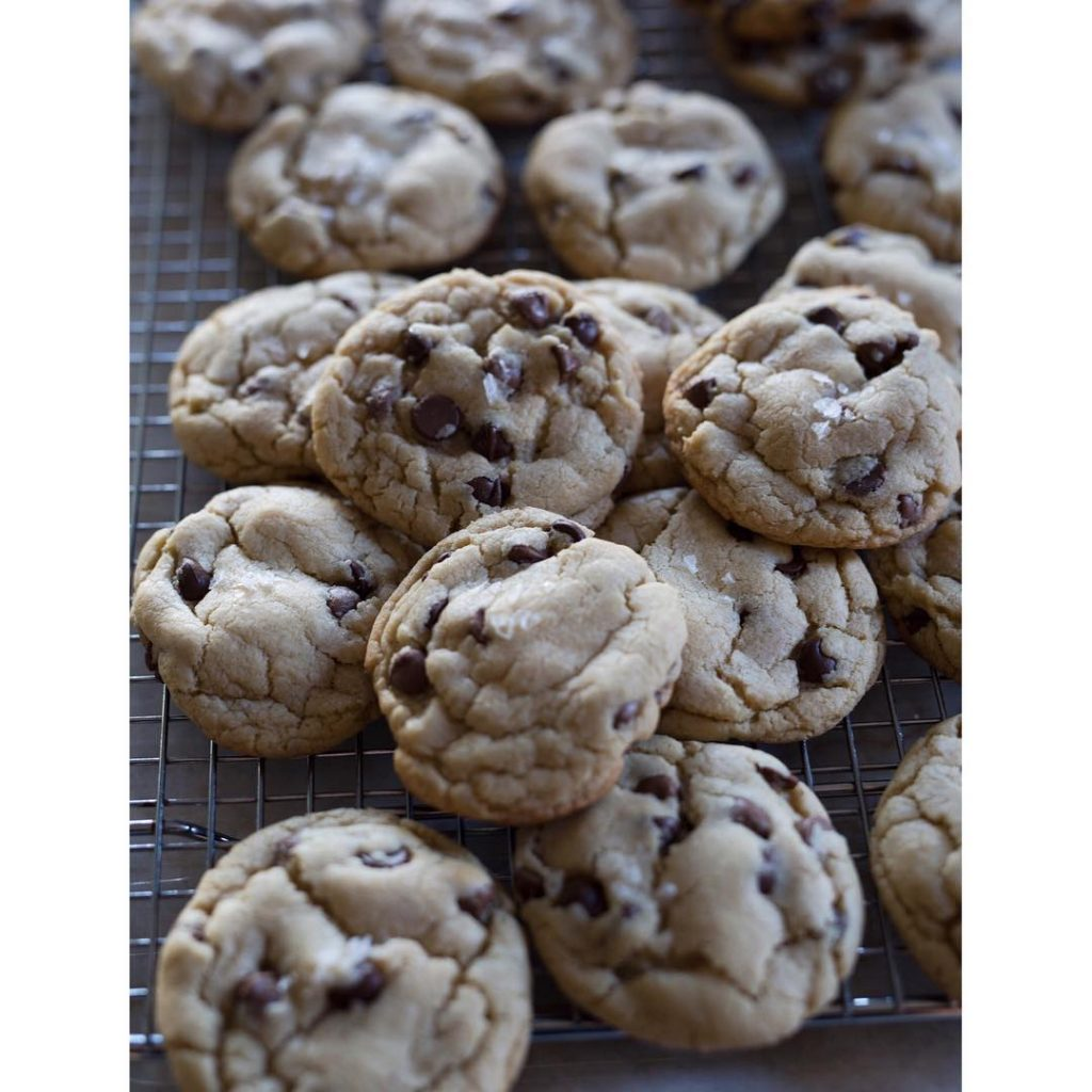 Made with chocolate chips instead of chopped chocolate this timehellip