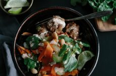 Banh Mi Bowls with Ginger Chili Pork